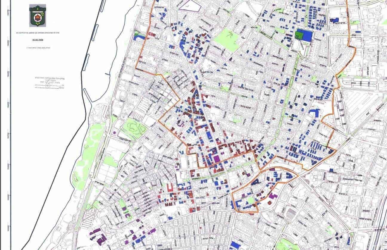 תכנית השימור תל אביב שמאי מקרקעין במרכז